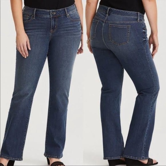 Torrid Relaxed Boot Jeans Vintage Stretch 16XT